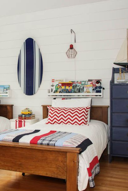 The Hy Housie Camp Nautical Themed Boys Room