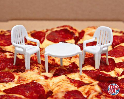 Pepperoni, Dish, Food, Cuisine, Pizza, Ingredient, Pizza cheese, Italian food, Fast food, Junk food,