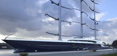 Vehicle, Boat, Sailing, Mast, Sail, Yacht, Barquentine, Watercraft, Clipper, Sailing ship,