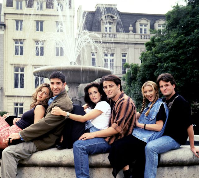 bpew2g jennifer aniston, david schwimmer, courteney cox, matt leblanc, lisa kudrow, matthew perry, friends  season 1, 1994