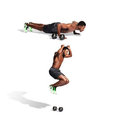Build Your Best-Ever Body at Home With Our Dumbbell-Only WFH Athlete Training Plan