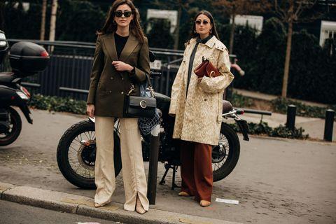 Photograph, People, Street fashion, Mode of transport, Snapshot, Fashion, Vehicle, Street, Photography, Human,