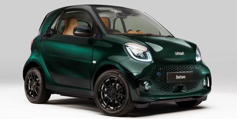 brabus smart eq fortwo racing green edition