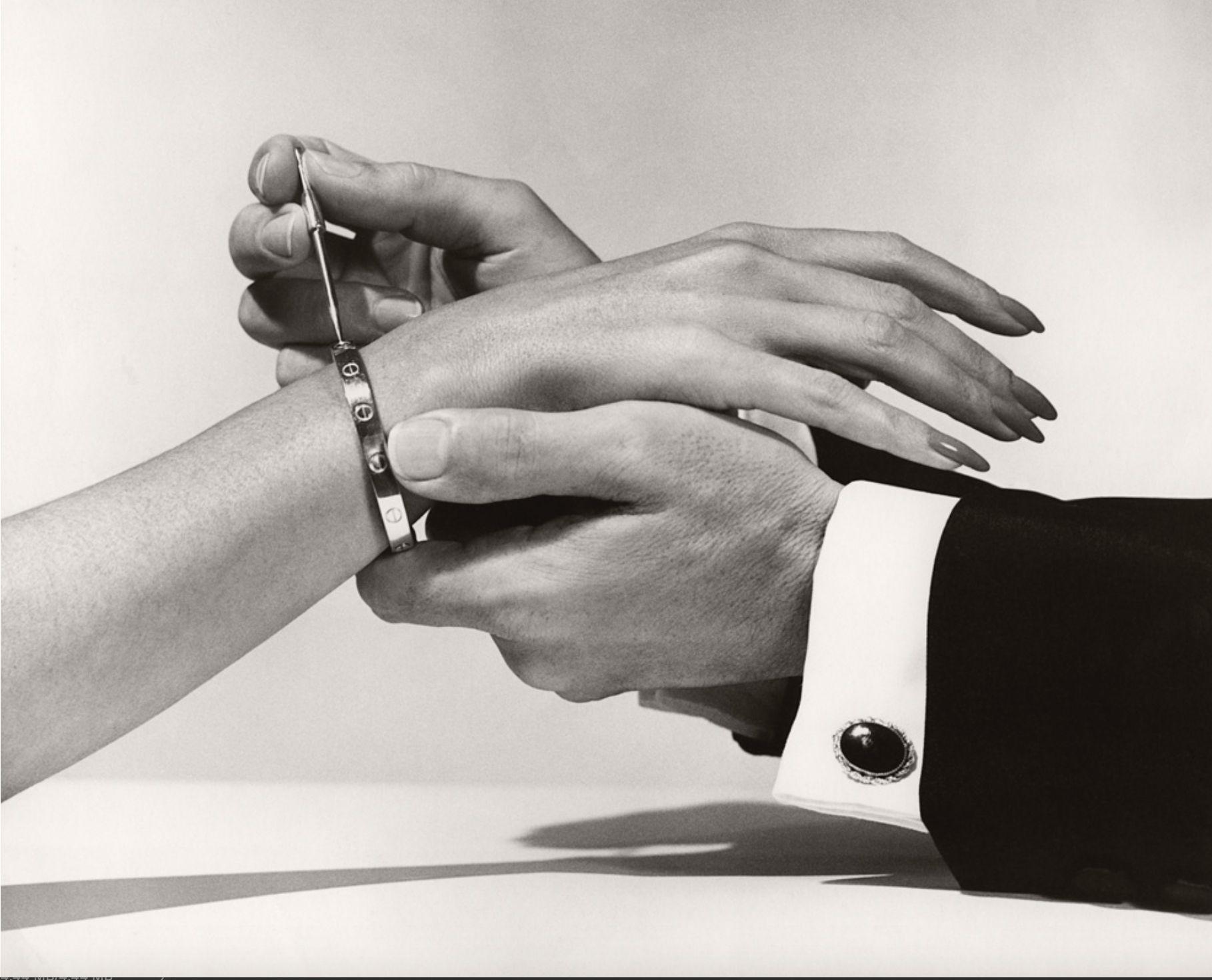 La storia del bracciale Love di Cartier