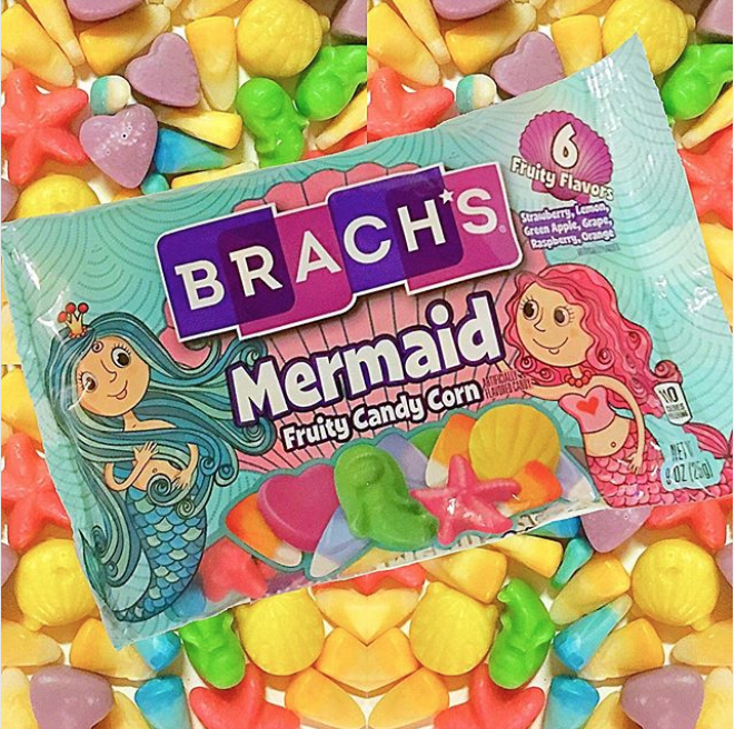 Instagram Is Freaking Out About Brach's New Mermaid Candy Corn