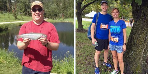 Losing 80 Pounds Feels Easier When You Look Forward to Each Day's Run