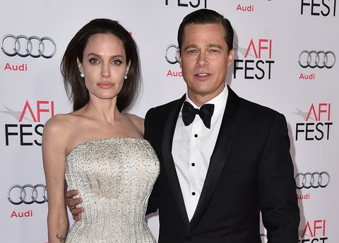 Angelina Jolie y Brad Pitt divorcio