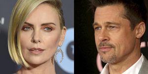 Charlize Theron y Brad Pitt, saliendo juntos