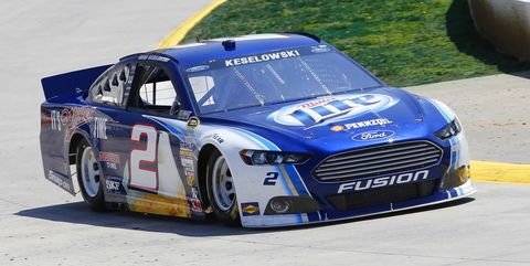 nascar sprint cup series stp gas booster 500 practice
