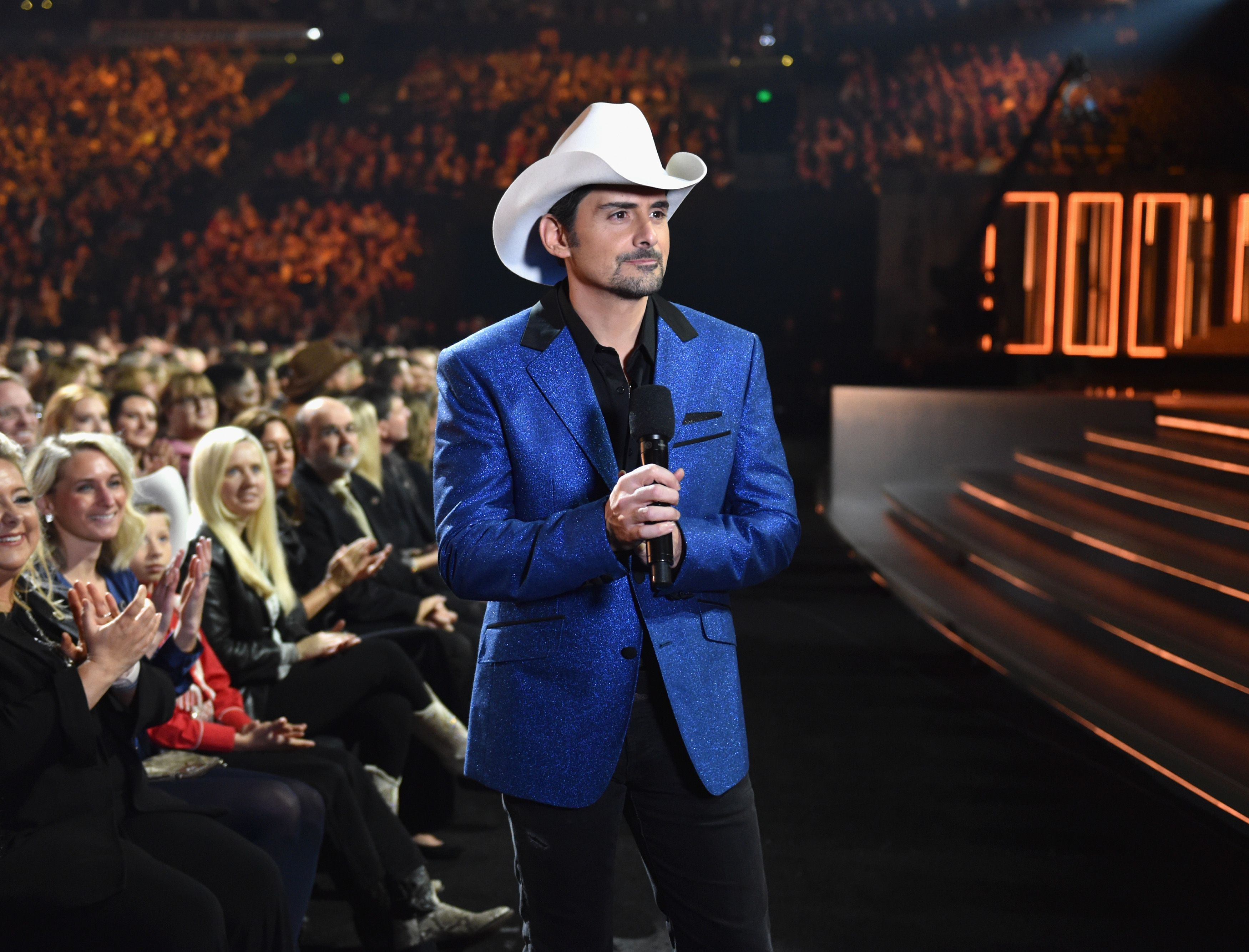 Brad Paisley Announced He's Starring in a New Show 1 Month After the CMA Hosting Drama