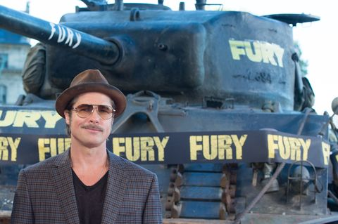 Brad Pitt Fury