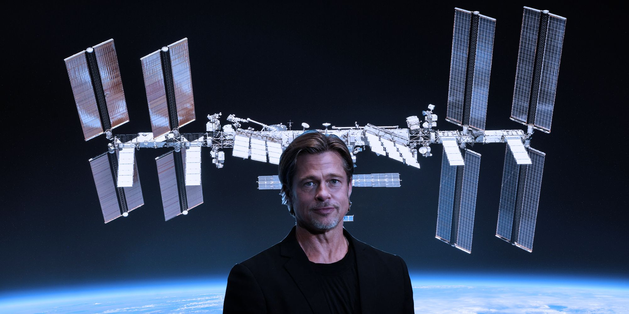 When Brad Pitt Called the International Space Station