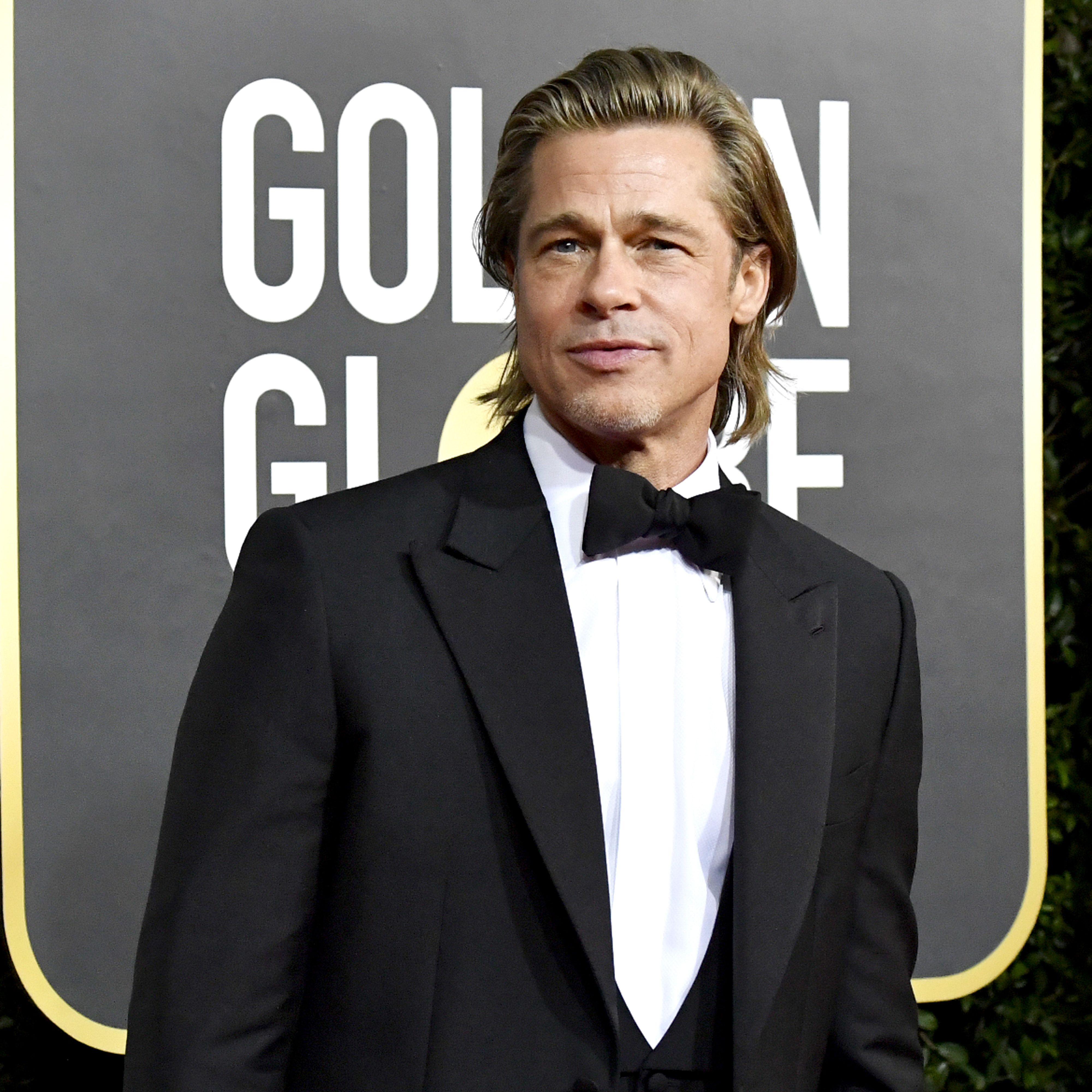 Brad Pitt has perfect response to having run-in with ex Jennifer Aniston at Golden Globes