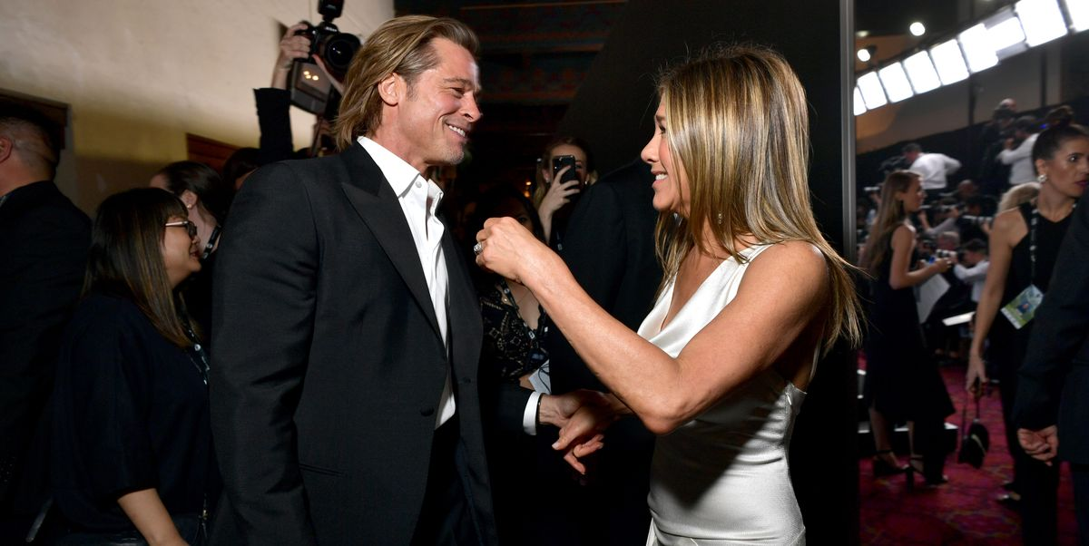 """Brad Pitt Is """"Blissfully Naive"""" of the Public's Obsession Over Him and Jennifer Aniston"""
