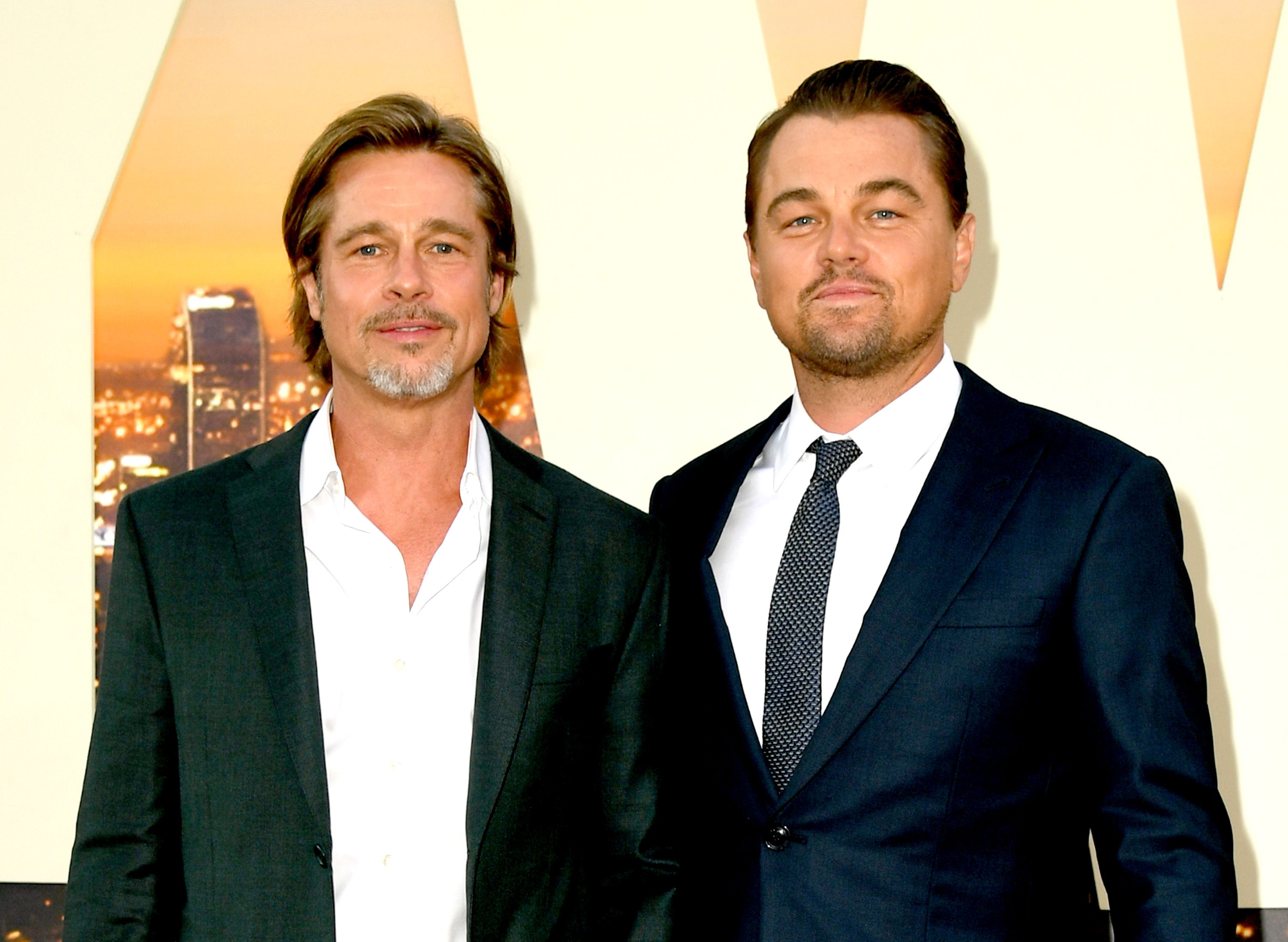Brad Pitt and Leonardo DiCaprio Are Reportedly Bonding Through Their Love of Sculpture