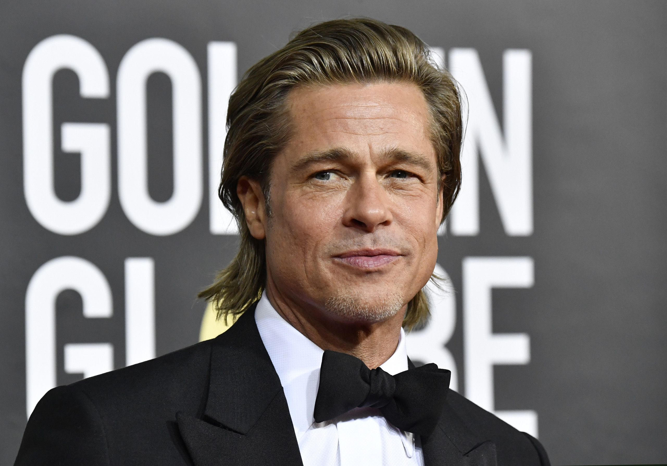 Brad Pitt Allegedly Left His Children Out of His Golden Globes Speech on Purpose