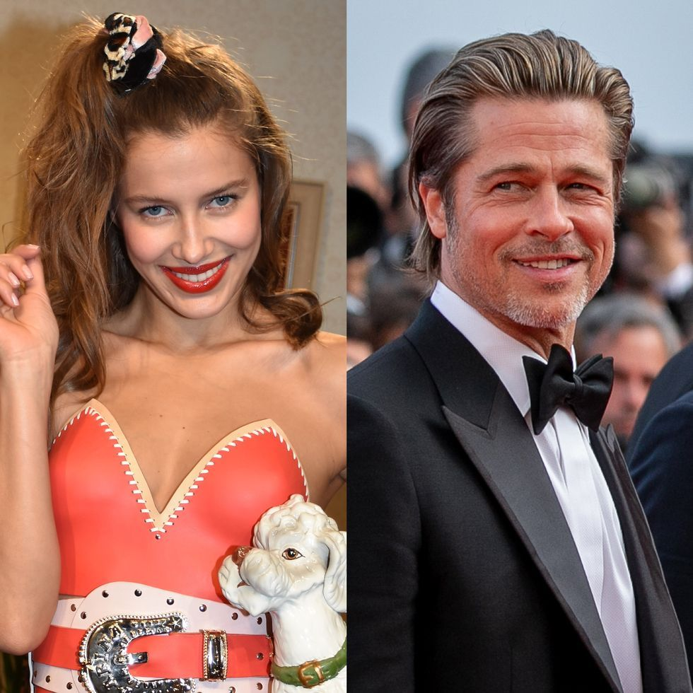 Who Is Nicole Poturalski Brad Pitt S Girlfriend Nico Mary Facts
