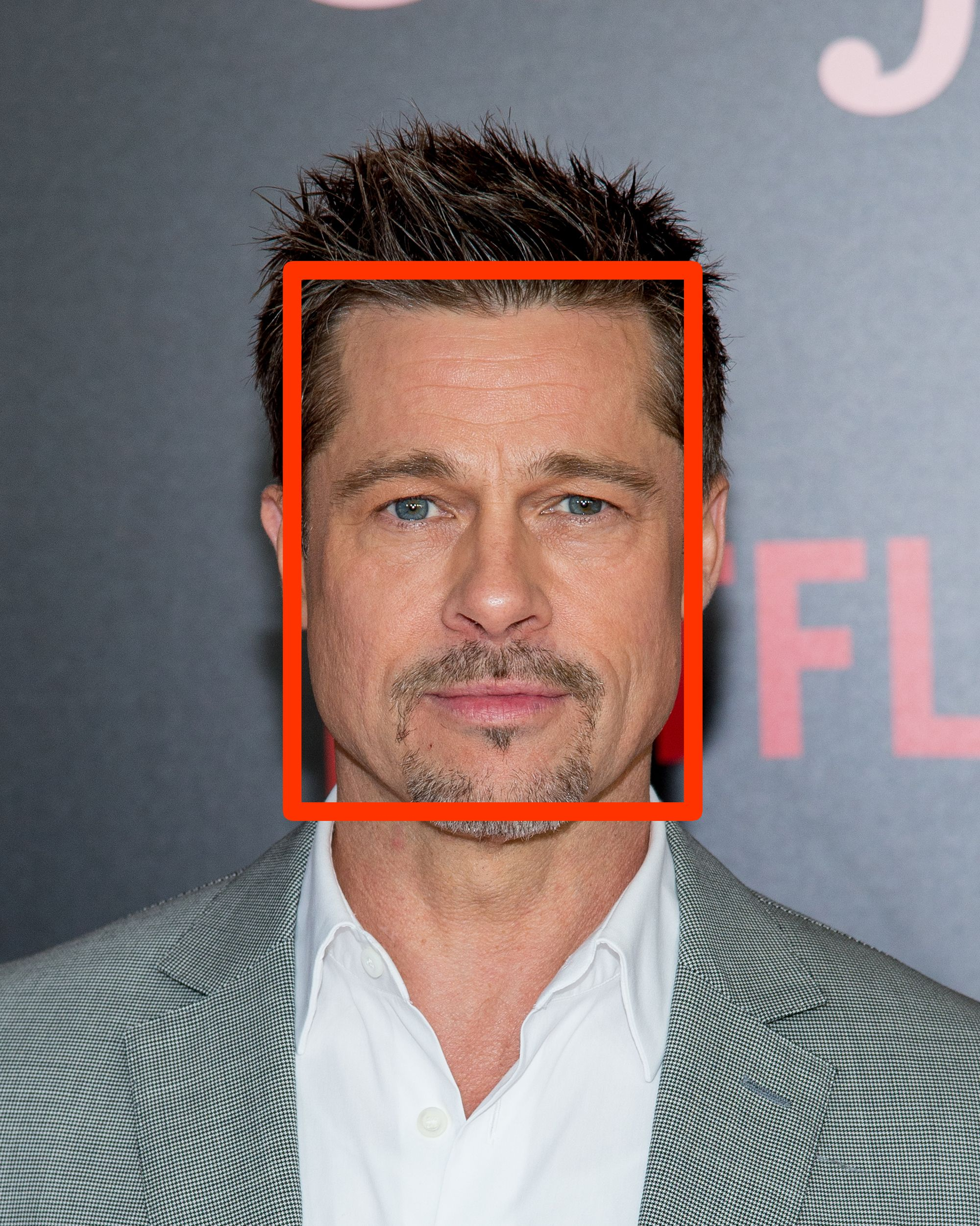 brad pitt, brad pitt square face, square face shape man, square face man