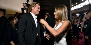 Brad PItt y Jennifer Aniston en los Screen Actors Guild Awards 2020