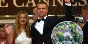 Jennifer Aniston y Brad Pitt venden su mansión de los Ángeles.