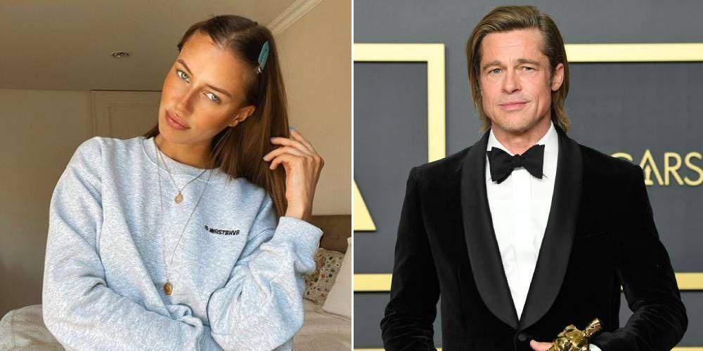 Brad Pitt And Nicole Poturalski Have Split After Three Months