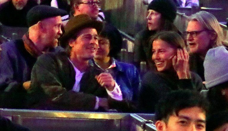 When Did Brad Pitt And Nicole Poturalski S Relationship Begin November 2019 Date