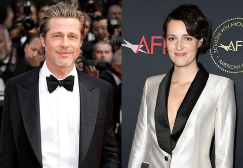 this story of brad pitt fangirling over phoebe waller bridge is amazing