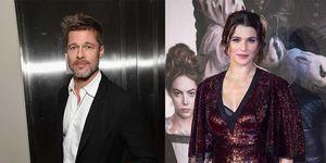 Brad Pitt y Rachel Weisz
