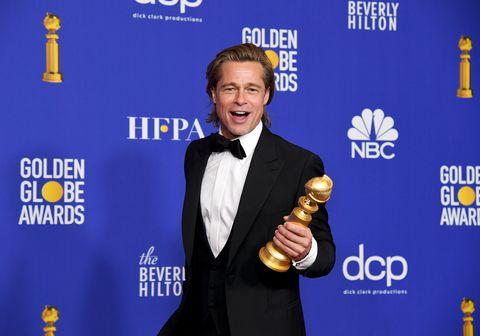 brad pitt77th Annual Golden Globe Awards - Press Room