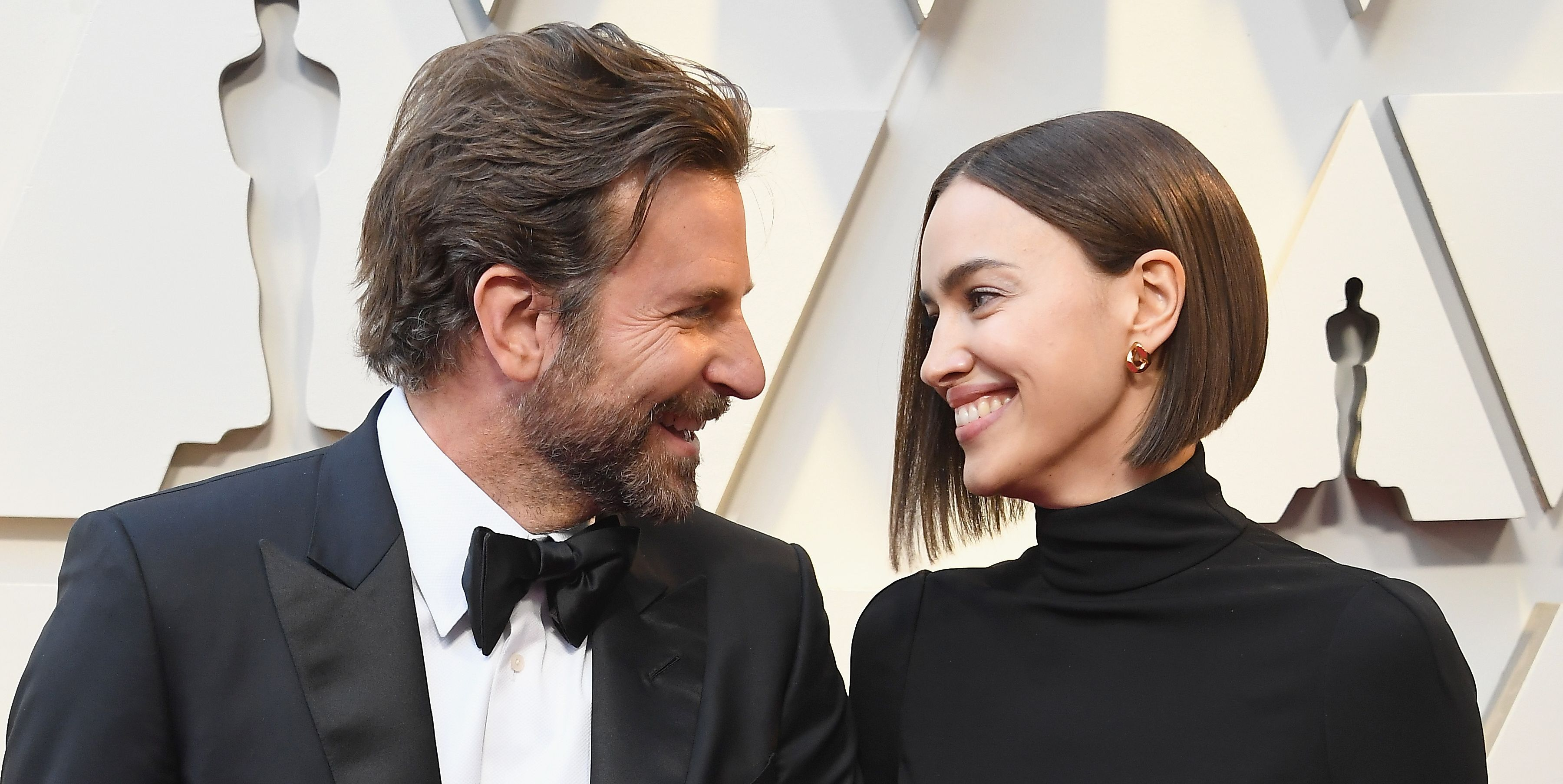 Bradley Cooper And Irina Shayk Show Pda On Oscars 2019 Red