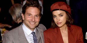 Bradley Cooper en Irina Shayk bij The National Board Of Review Annual Awards Gala.