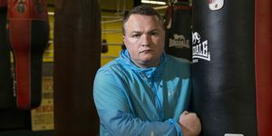 Trainspotting 2 actor and boxer Bradley Welsh