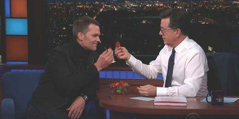 Tom Brady strawberry