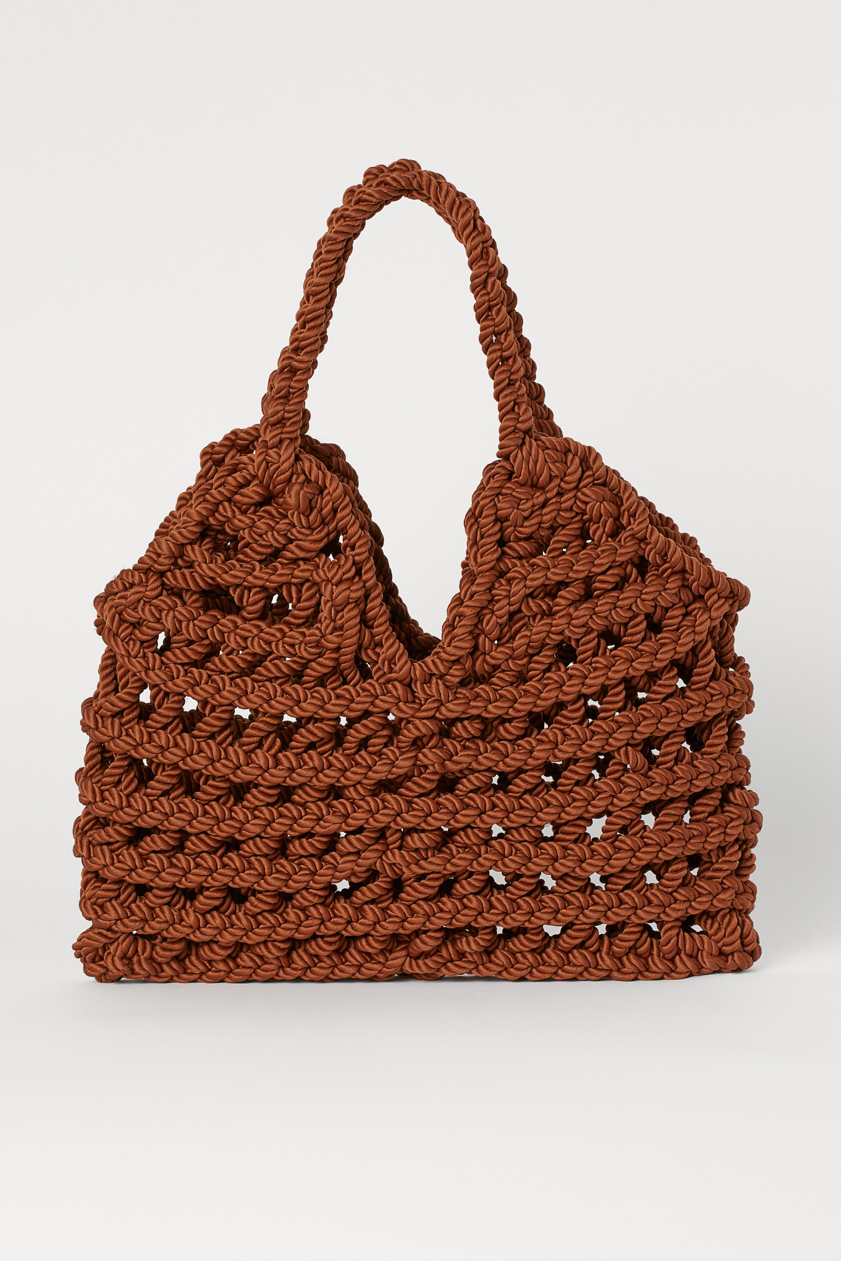 H&M knotted tote