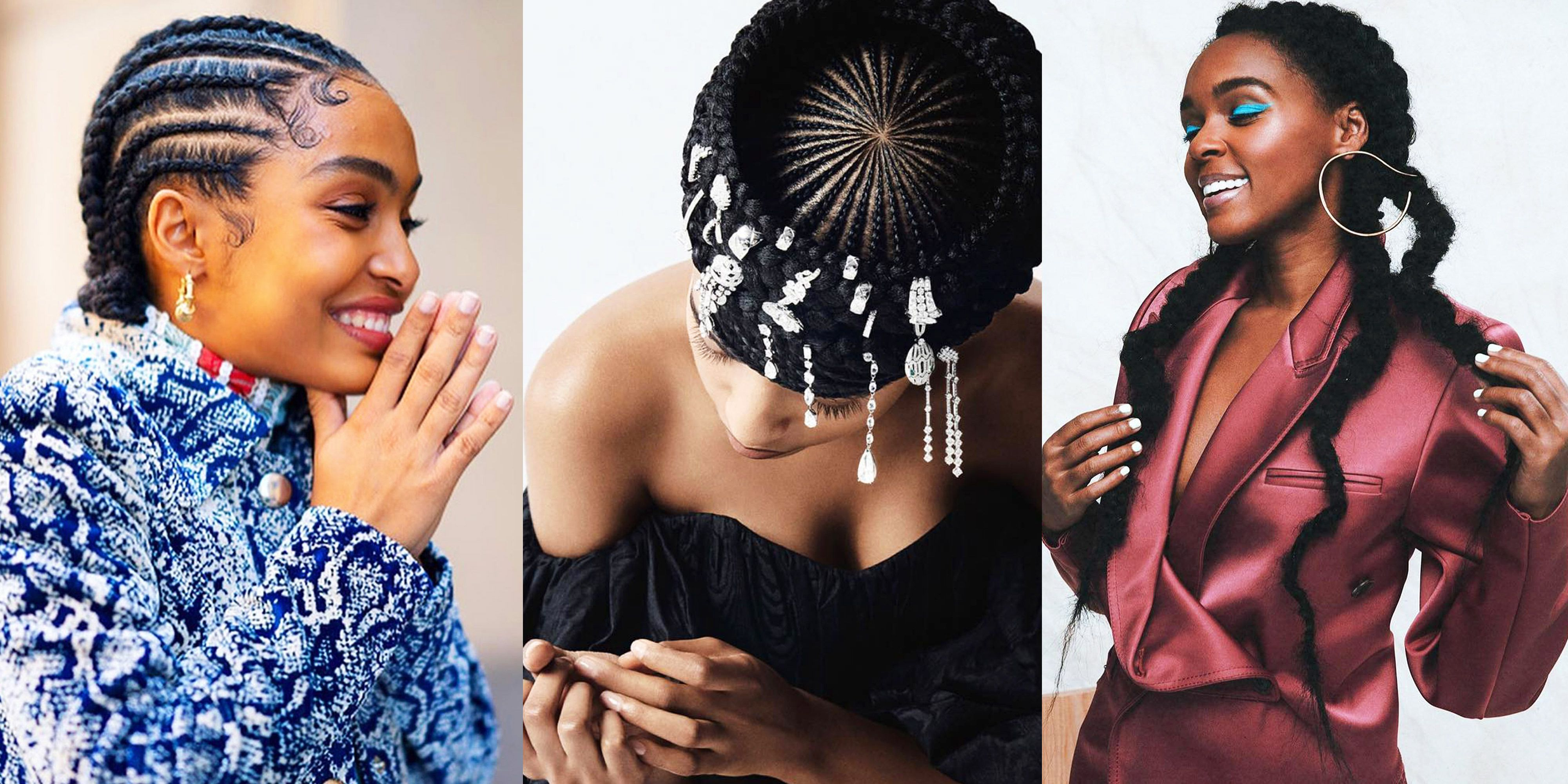 42 Goddess Braid Styles To Try In 2020 Goddess Braid Hairstyles