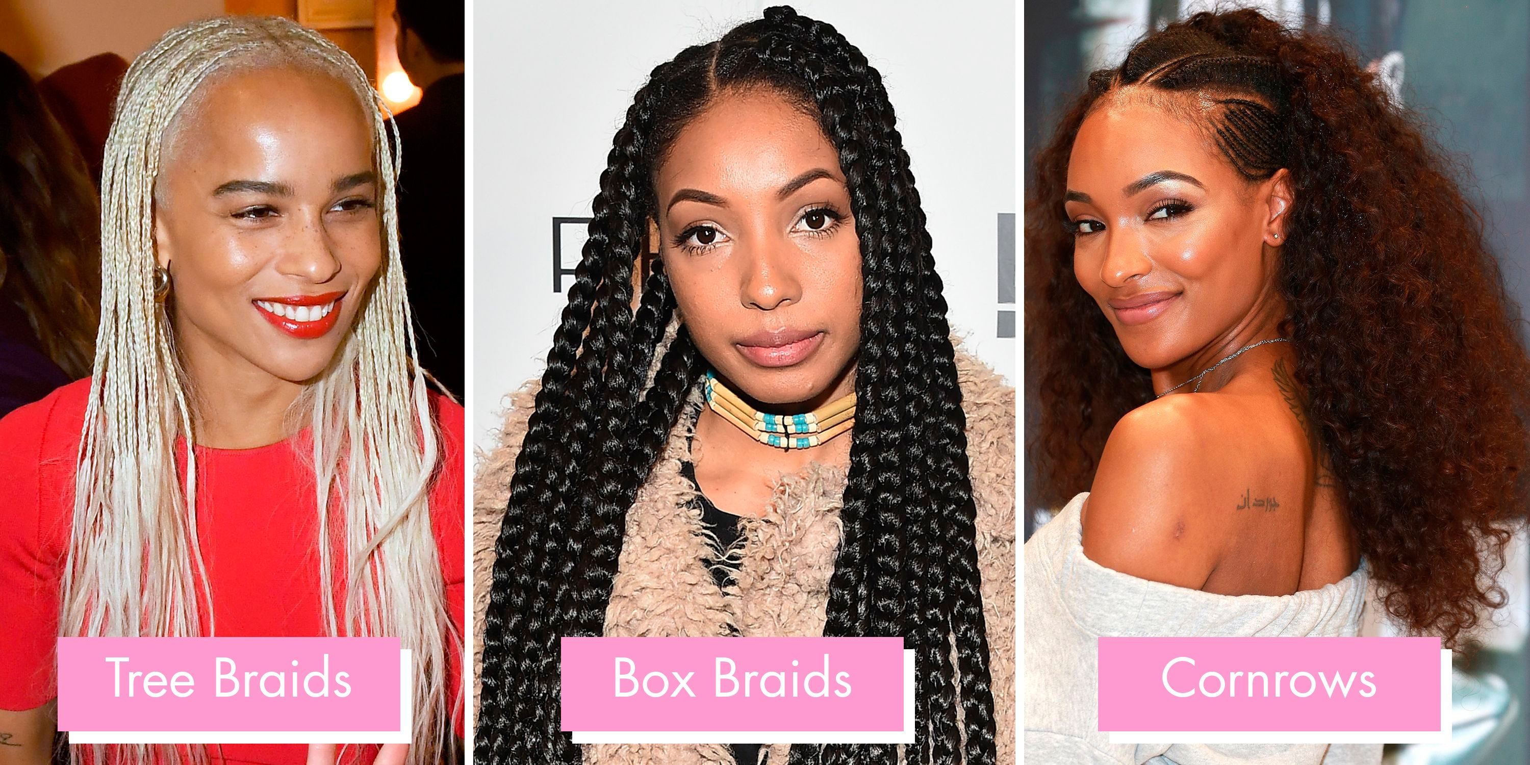 Braids and Twists 2019 , 14 hairstyles from crochet and box