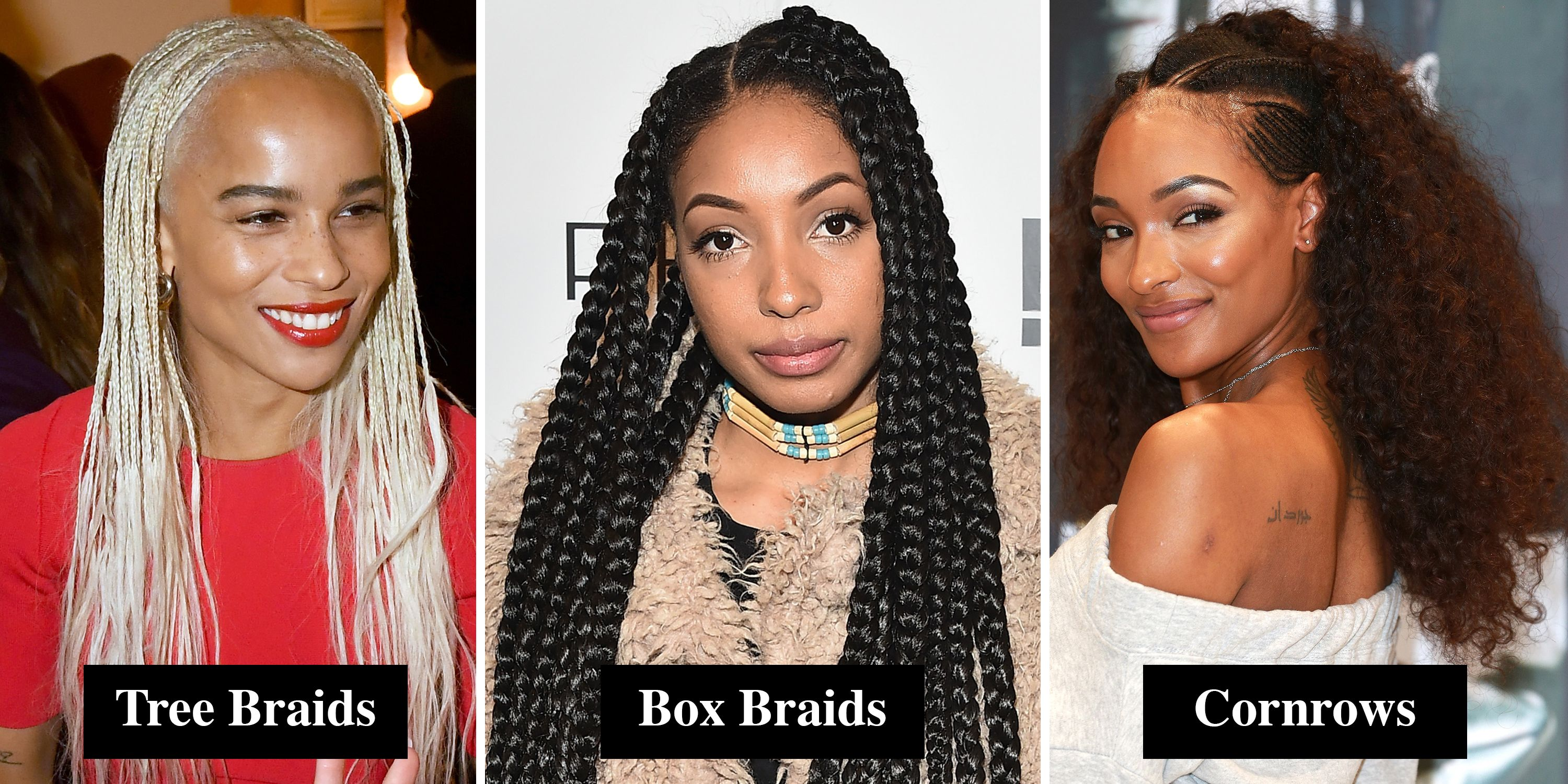 Braids and Twists for Afro and Black Hair