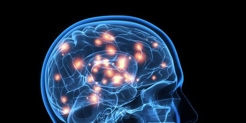 Brain activity, artwork