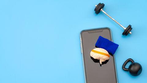 zelfdiscipline blijf van die telefoon af en ga sporten