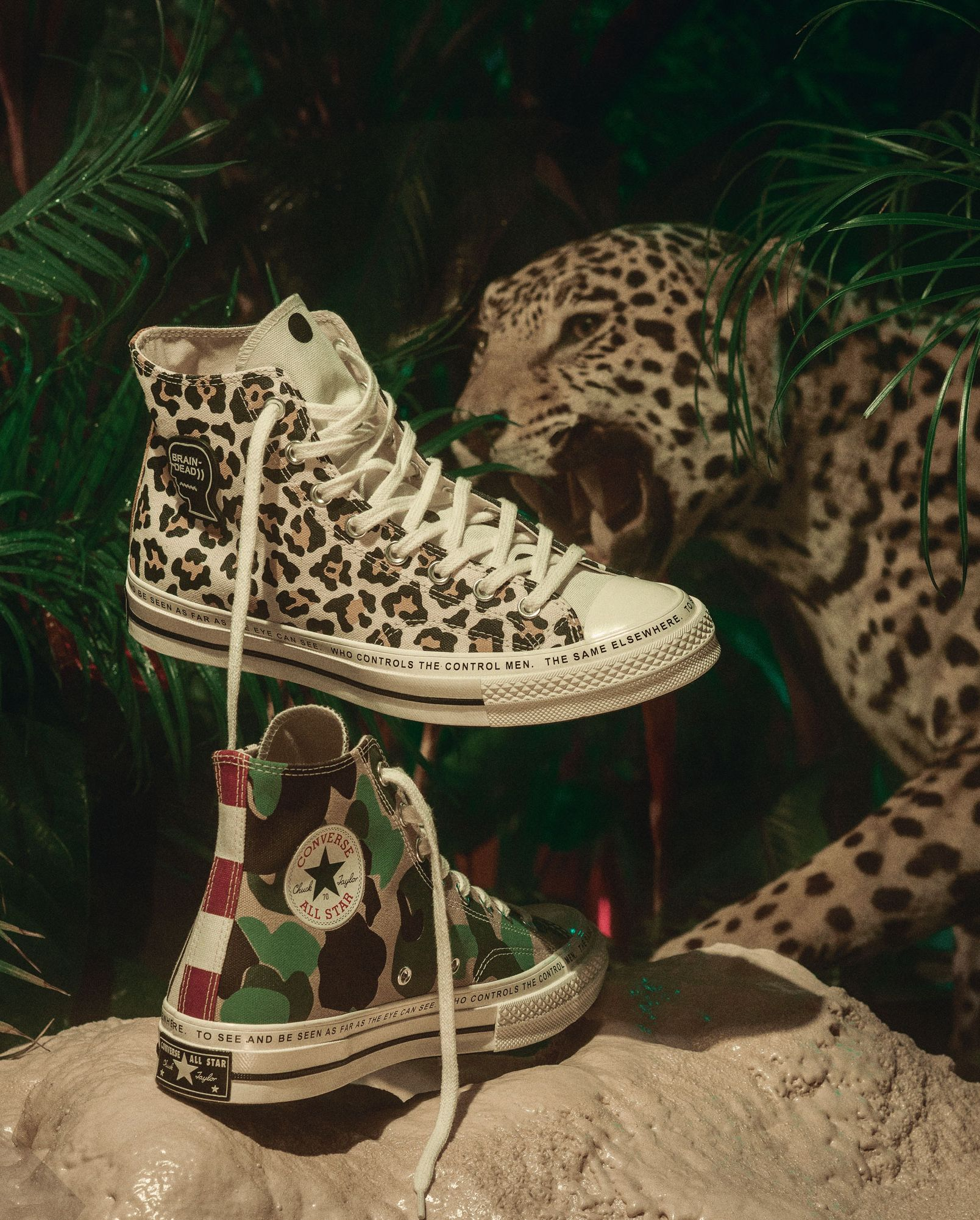 The New Converse x Brain Dead Collab Is the Best Kind of Wild