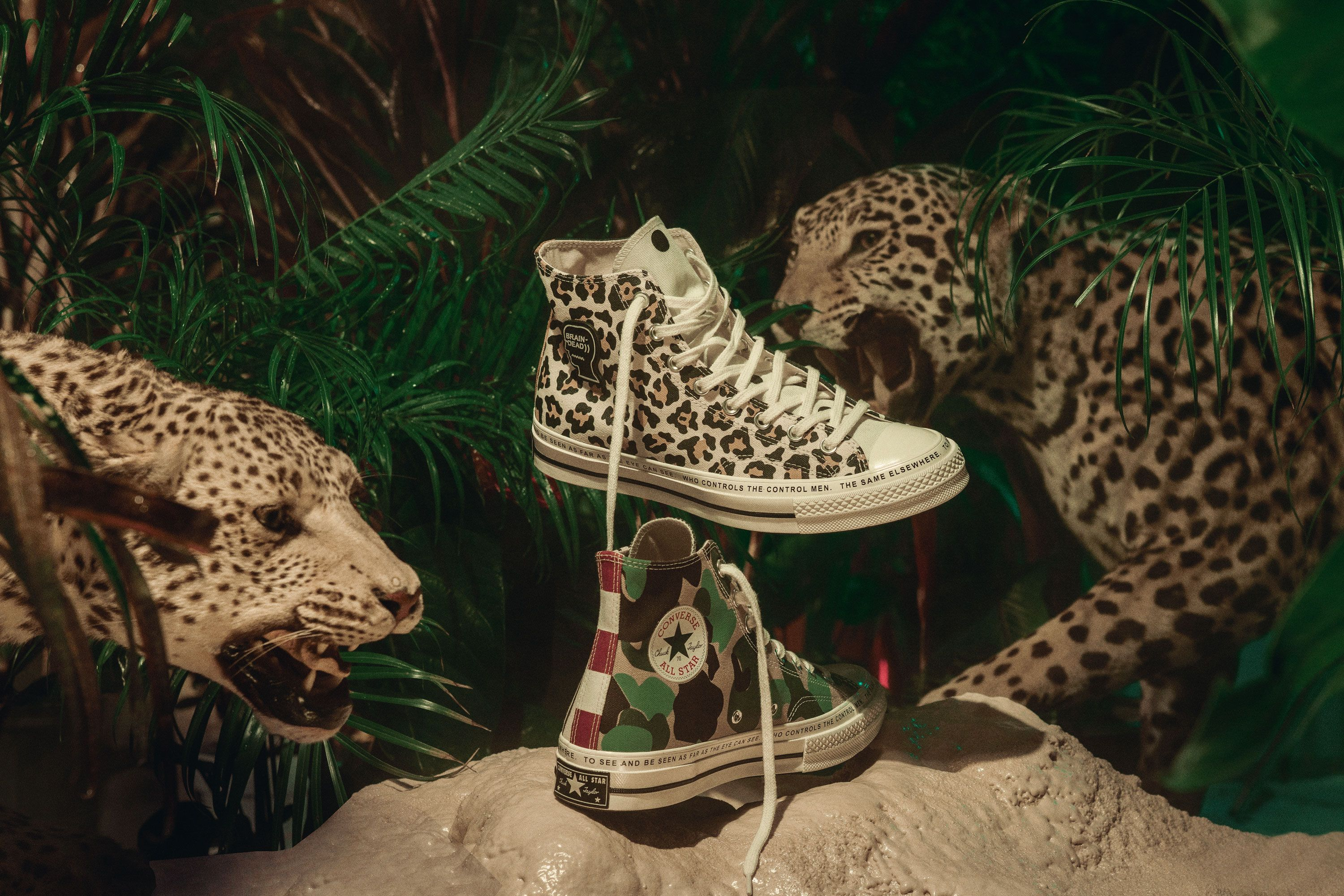 Converse X Brain Dead Is The Best Kind Of Wild