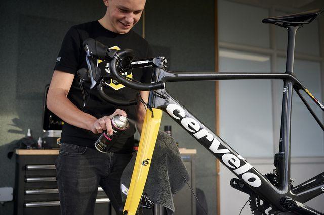 cervelo, fietsen, team, jumbo visma, dynamic bike care