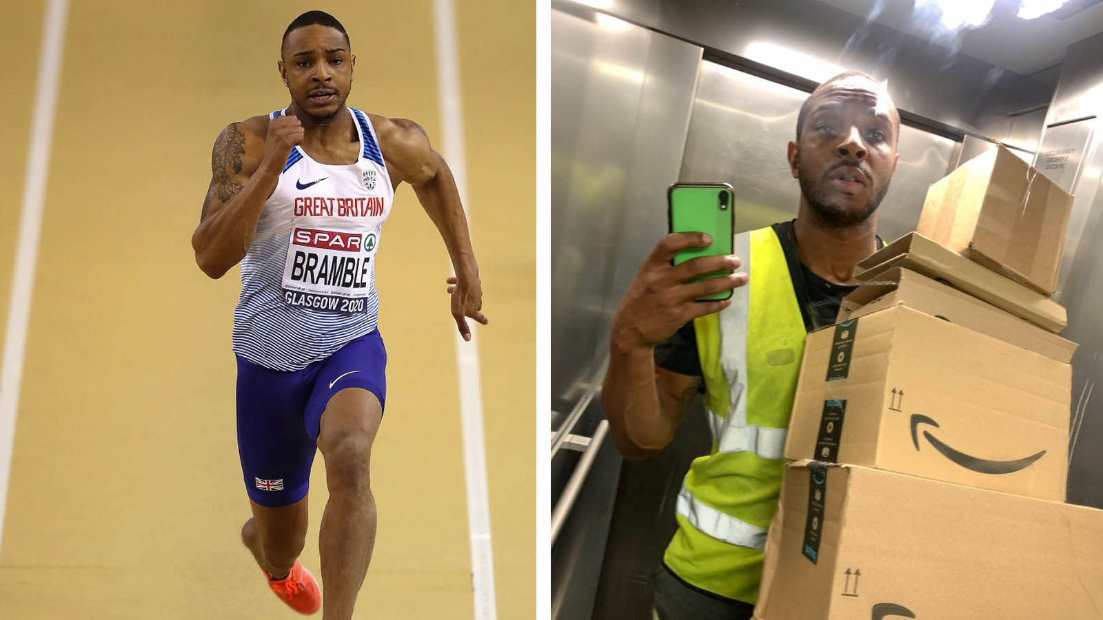 British long jumper, who took a job as a delivery driver, gets funding to continue training