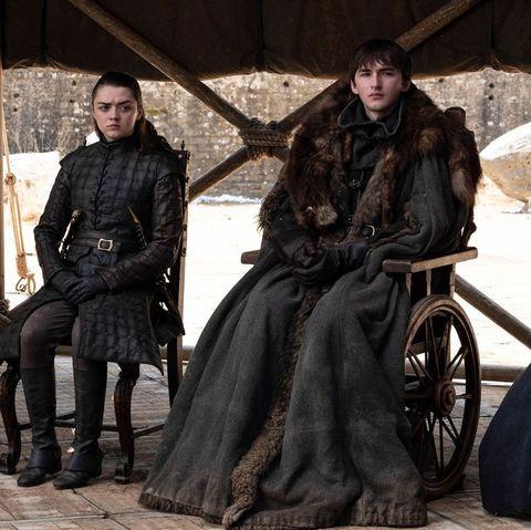 King Bran Game of Thrones Finale