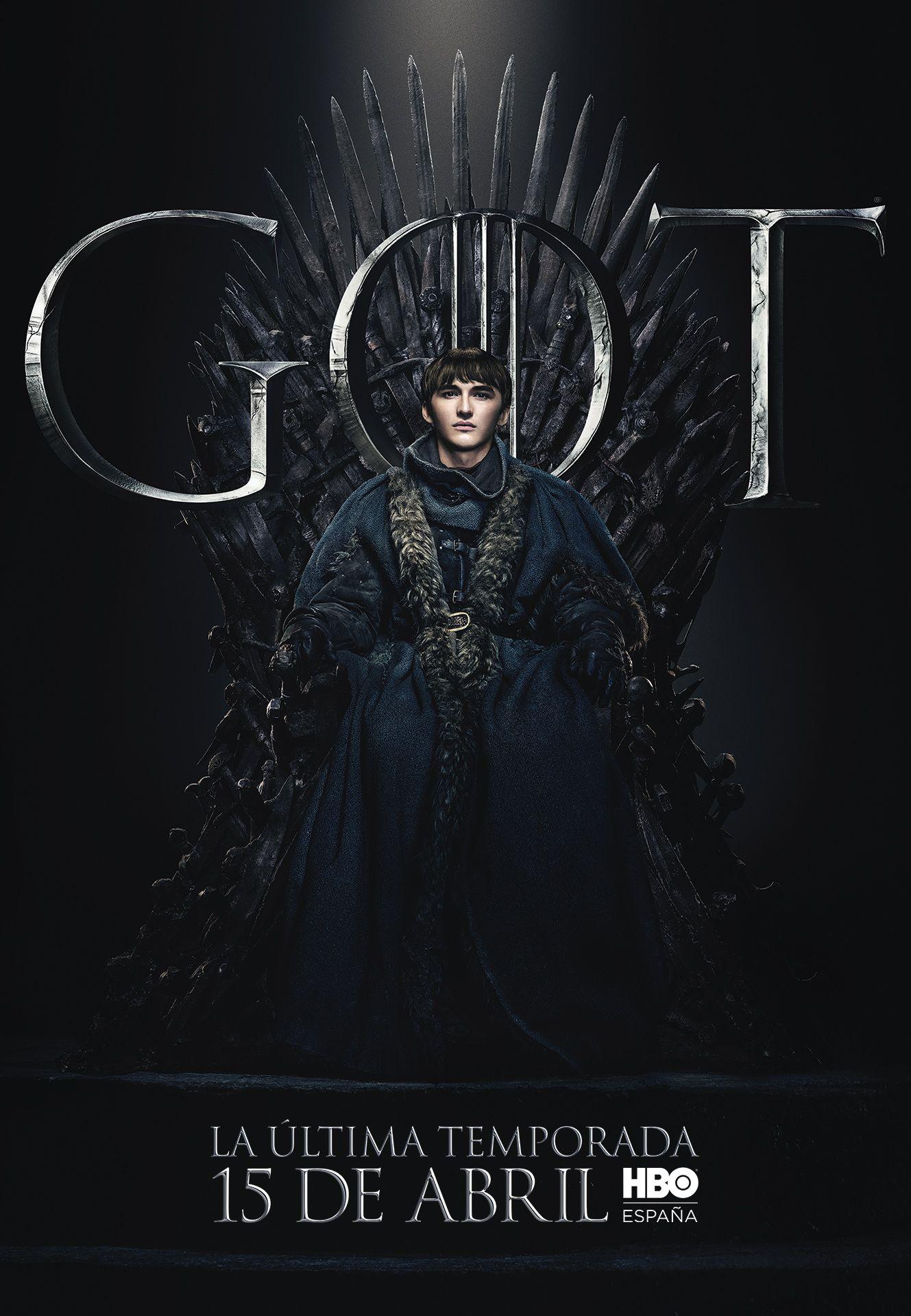 Juego de tronos 8 cartel