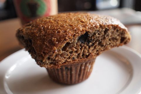 bran muffin blueberry