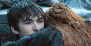 Juego de Tronos Bran y Sansa