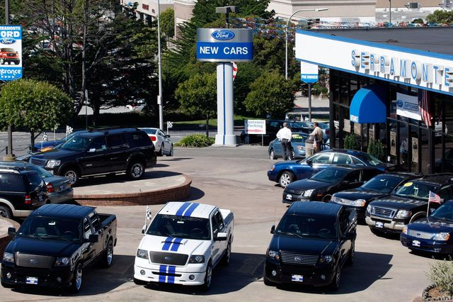 ford september sales are sharply lower