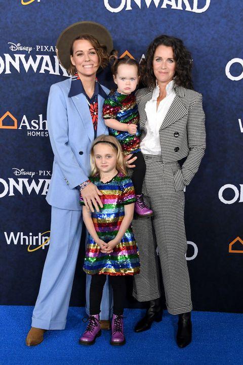 brandi carslile and family
