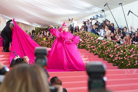 """the metropolitan museum of art's 2019 costume institute benefit """"camp notes on fashion"""""""